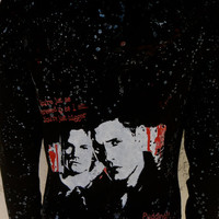 DiY Supernatural Hoodie Sam Dean Castiel You choose the size. Misses.