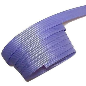 "Lilac 3/8"" grosgrain ribbon"