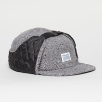 Insulated tweed cap