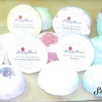 Set of 6 Bath Bombs (half a sphere)