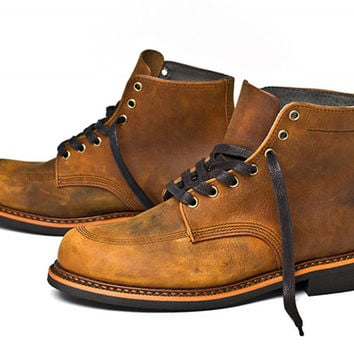 Broken Homme | Davis Boot (Light Brown)