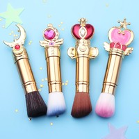 Sailor Moon Magic Wands Makeup Brushes