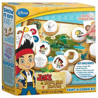 Disney Jake and the Never Land Pirates Paint-A-Cookie Kit