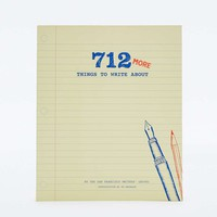 712 More Things to Write About Journal - Urban Outfitters