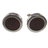 Authentic Football Cut Out Cufflinks