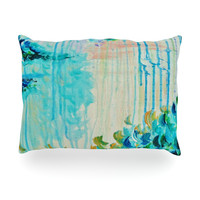 "Ebi Emporium ""Poseidons Wrath"" Oblong Pillow"