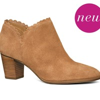 Marianne Suede Bootie | Boots & Booties | Jack Rogers - Jack Rogers USA