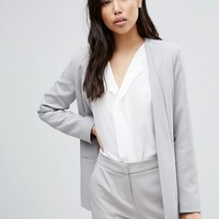 ASOS Premium Clean Tailored Suit in Light Gray at asos.com