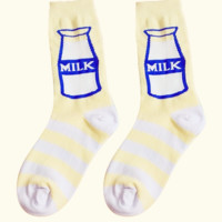 Milk Bottle Socks