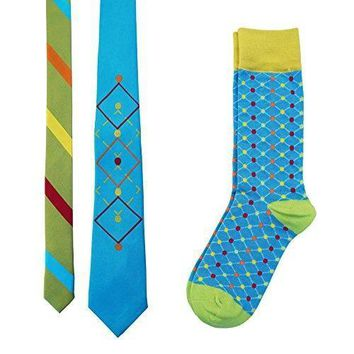 Tie Your Socks Men's Tie and Socks Set