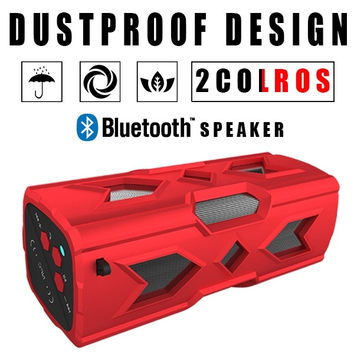 Outdoor Sport Party Portable Bluetooth 4.0 Wireless Boomboxes Speakers 10 Hours Playtime,3600 mAH Ultrastrong Capacitance,Ultra Bass Subwoofer Sound Effect(Waterproof/NFC/Powerbank/Hands Free Function) = 1946210820
