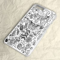 Black White One Direction iPhone 6 Plus Case
