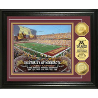 University of Minnesota Stadium Gold Coin Photo Mint