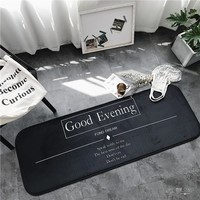 GOOD EVENING Floor Indoor/Outdoor Mat