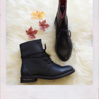 Riddle Boots- Black
