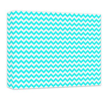 Chevron Pattern Canvas Wall Art