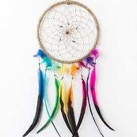 Multi-Feather Dreamcatcher - Wall Decor - Earthbound Trading Co.
