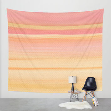 Sunrise Wall Tapestry by Kathleen Wong