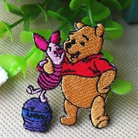 Disney Winnie the Pooh Piglet iron on patch E0172 by happysupply