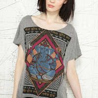 Title Unknown Ganesh High-Low Tee - Urban Outfitters
