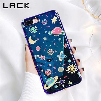 Universe Series Phone Case / iphone X, 6, 6S, 7, 8 Plus/ Fashion Blu-Ray Cover Planet Moon Star