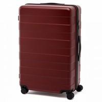 Adjustable Handle Hard Carry Suitcase 87L Red