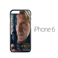 Star Wars The Force Awaken Han Solo iPhone 6 Case