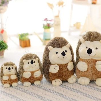 small simulation of hedgehog animal doll Toys ForHoliday gifts high quality Plush doll