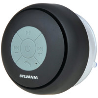 Sylvania Bluetooth Suction Cup Shower Speaker (black)