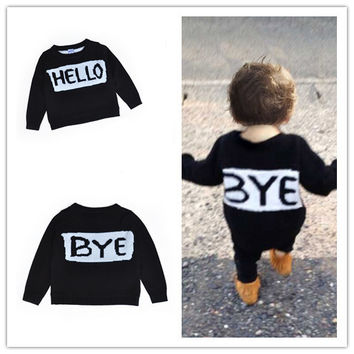 Baby Kids Knitted Cotton Sweaters