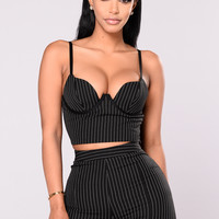 Come Correct Top - Black