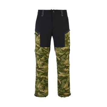 Vihir New Men's Camouflage Convertible Cargo Hiking Pants Removeable Shorts Hiking Camping Trekking Fishing Sport Trousers