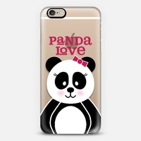 Panda Love iPhone 6 case by Noonday Design | Casetify