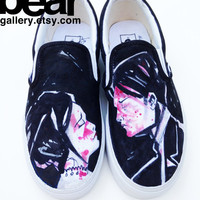 Custom Vans- My Chemical Romance