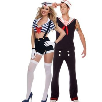 Harbor Hottie and Retro Sailor Couples Costumes