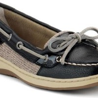 Sperry Top-Sider Angelfish Slip-On Boat Shoe Black, Size 6M  Women's Shoes