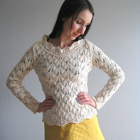 Pullover knit small Max Mara Sportmax vintage 90s sweater knitted