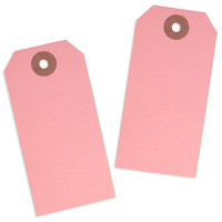 Pink Paper Tags