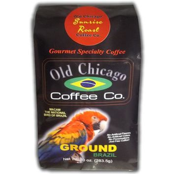 "Brazil ""Sunrise Roast"" Light Roast Ground Coffee by Old Chicago Coffee Co."