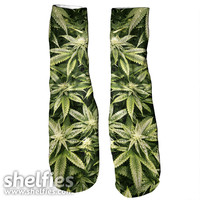 Kush Leaves Foot Gloves