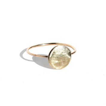 14K Sunset Ring