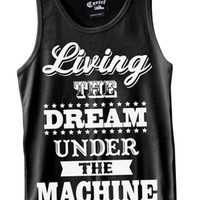 Men's Living The Dream Tank Top - Black
