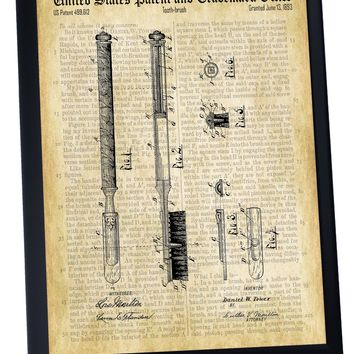 Toothbrush Patent- Historic Bathroom Patents Series