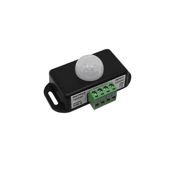 DC 12 Volt - 24 Volt 8A IR Motion Sensor ON OFF Movement Detector Latching Switch
