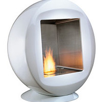 EcoSmart Fire: Q Modern Ventless Designer Indoor or Outdoor Fireplace
