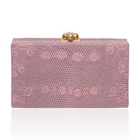 Jean Box Clutch in Lizard | Moda Operandi