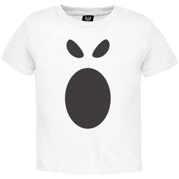 Halloween Ghost Face 1 Toddler Costume T-Shirt