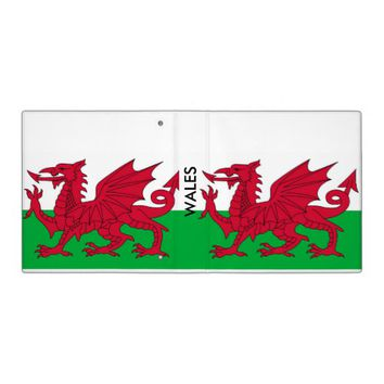 Binder with Flag of Wales