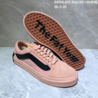 HCXX V058 Vans x Purlicue Old Skool Low Year Of The Pig the fat Year Skatee Shoes Pink Black
