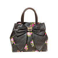 OH BOW SATCHEL: Betsey Johnson